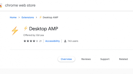 AMP Desktop: automatically load AMP pages on your desktop browser 3
