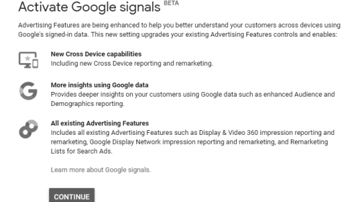 Google Signals: Cross-Device Tracking and Audience Targeting 3