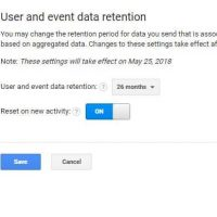 User and Event Data Retention: best set up for Google Analytics 6