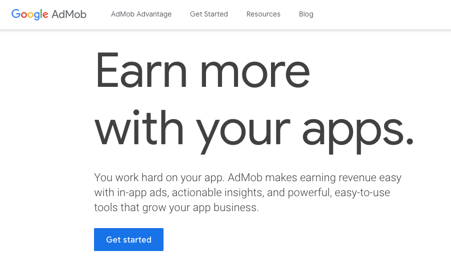 Google AdMob - Mobile App Monetization