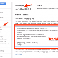 Insert Google Analytics Tracking Code in WordPress without Plugin 1