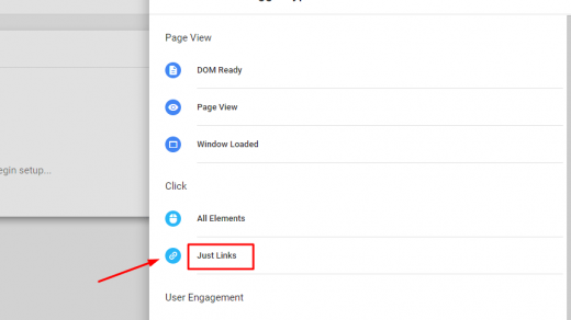 Link Click Tracking: Internal and External Clicks Report in GA 1