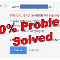 7 easy tips for 'This URL is not Available for Signing Up for AdSense' 6
