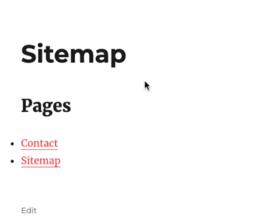 WP Sitemap Page plugin live demo