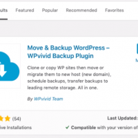 Free off-site Remote Backup for WordPress with WPvivid Plugin 1